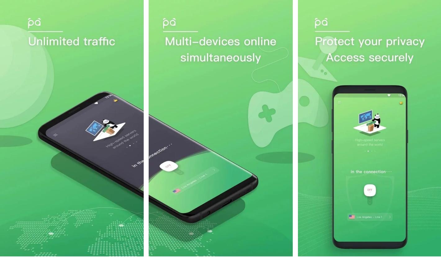 ملخص حول Panda VPN Pro حماية الخصوصية_ الوصول إلى المواقع المحجوبة
