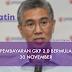 GKP 2.0 Akan Dibayar Bermula 30 November (Isnin)