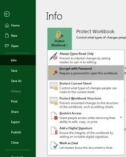 How to Password Protect Excel File-2019 [Excel File में Password कैसे लगाए]