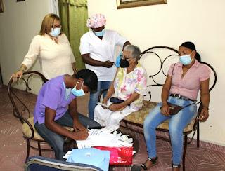 MIDE y Gobernación de Azua incentivan ciudadanos para que se vacunen contra el Covid-19