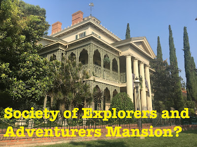 Haunted Mansion Connection to the Society of Explorers and Adventurers