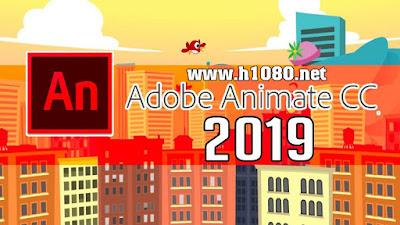 Tải về máy phần mềm hoạt hình Adobe Animate CC 2019