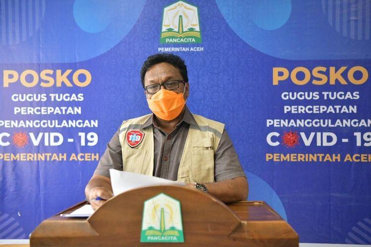 Sempat Landai Dua Pekan, Kasus Corona di Aceh Kembali Melonjak, Ini Sebabnya