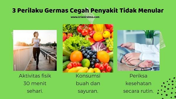 Cegah Penyakit Tidak Menular dengan Germas
