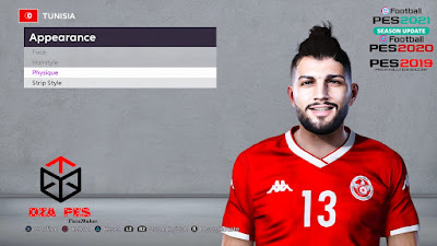 PES 2020 Faces Farjani Sassi by Chakib Guergour