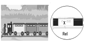Pemasangan rel kereta api yang diberi tanda X dimaksudkan untuk … .