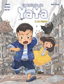 La balade de Yaya - La fugue - tome 1 (édition 2019) bande dessinée des éditions Fei