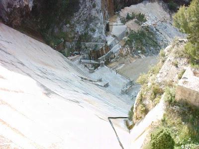 Pantano ,embalse, Pena ,Beceite ,frontera ,Valderrobres, presa 2