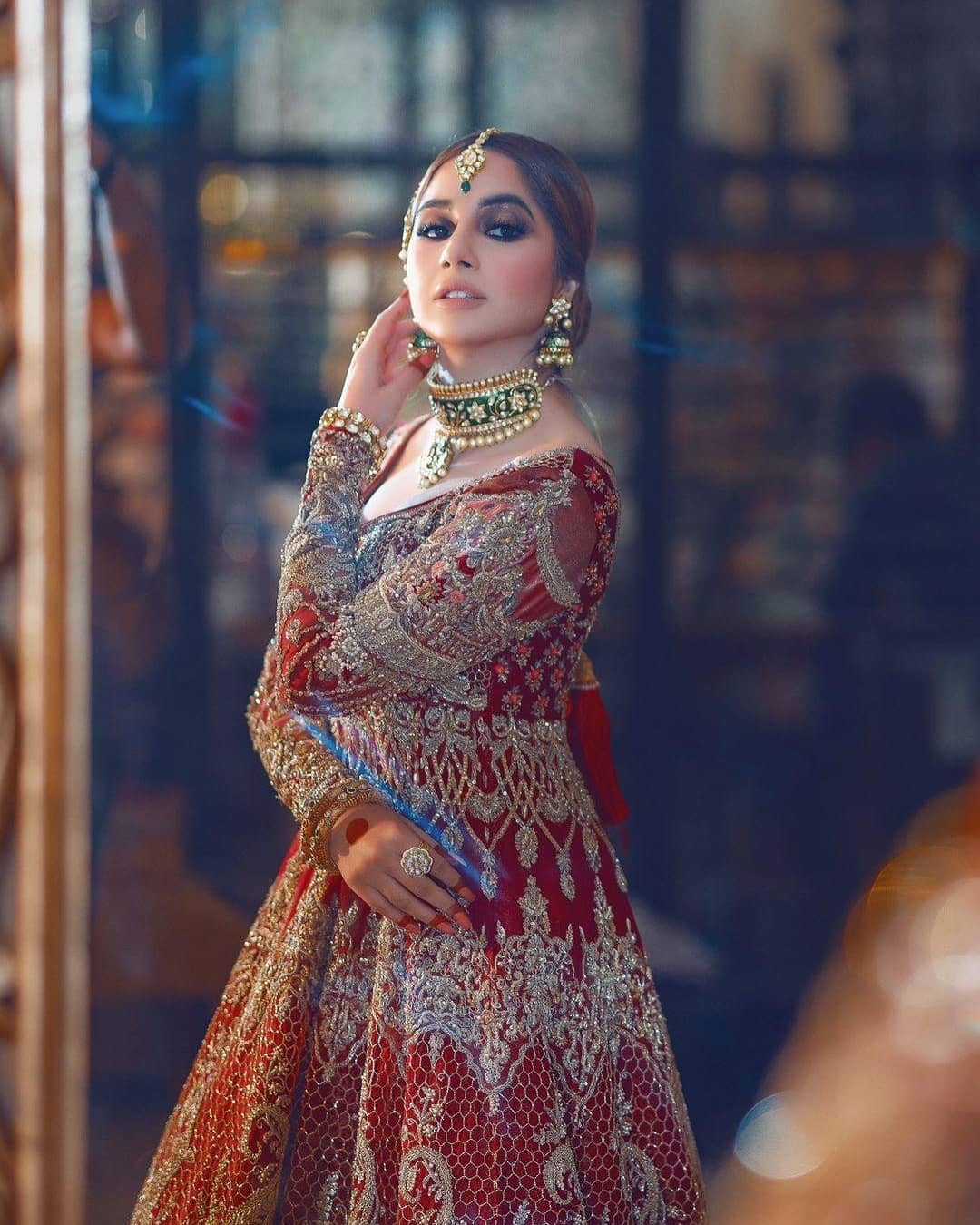 Actress Sabeena Farooq bridal shoot