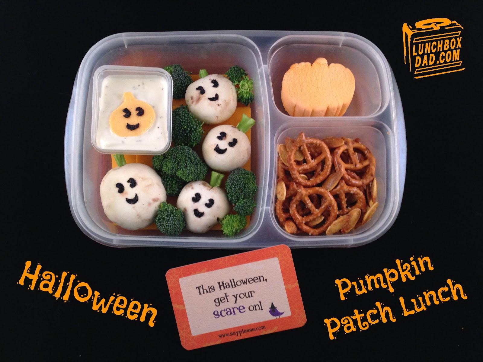 Lunchbox Dad: Halloween Pumpkin Patch Lunch