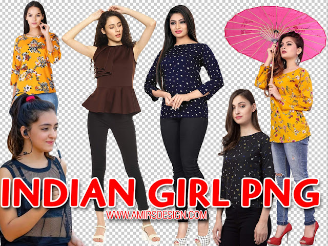 Indian Girl Png
