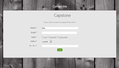 Flexible Contact Form with Admin Panel