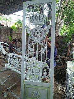 Pembuatan, Pintu, Teralis, Besi Tempa, Tralis, Klasik