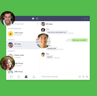 Messaging app LINE releases Chrome browser extension