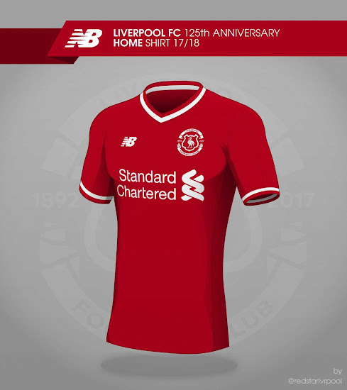 135a38bb1 Liverpool 17-18 Home Kit Concept
