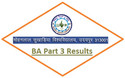 Mohanlal Sukhadia University BA 3rd Year Result 2021