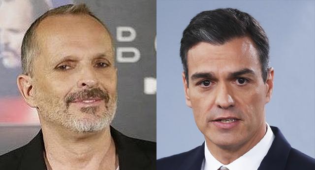 Miguel Bosé se lleva un ZASCA después de hacer una crítica a Pedro Sánchez