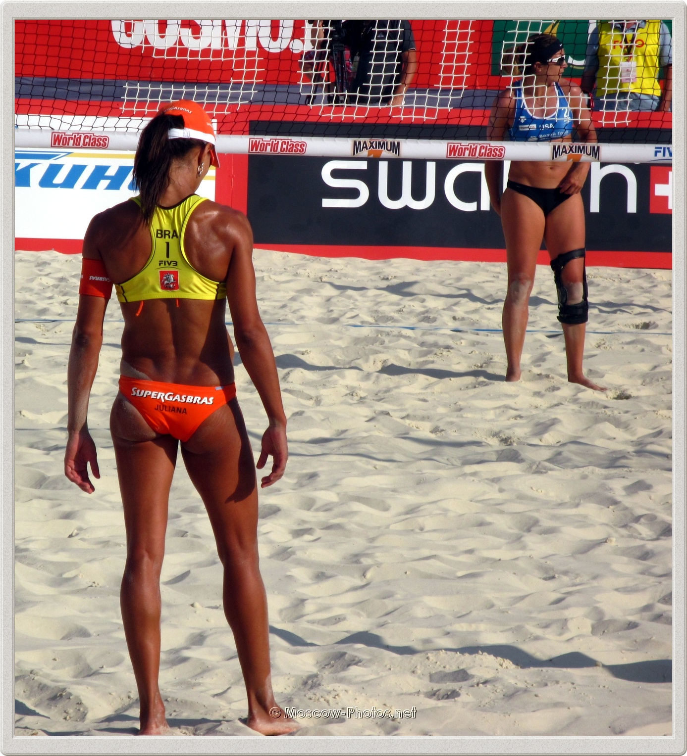 Beach Volleyball Player Juliana Felisberta Da Silva