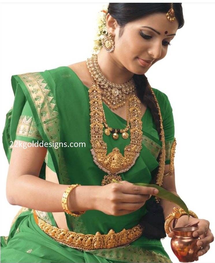 Traditional Temple Bridal Jewellery