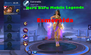 hero baru esmeralda mobile legends, hero baru ml 2019