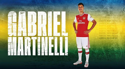 Arsenal sign Gabriel Martinelli