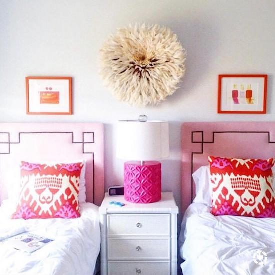 pink-orange-girls-room-decor-kazak-attack Highest Of The WInter House Decor Gross sales Interior