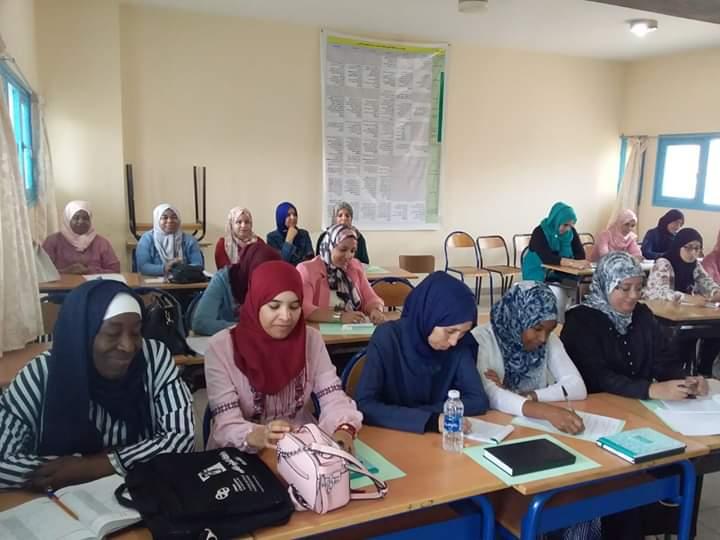 دورات تكوينية حول تنزيل الاطار المنهاجي للتعليم الاولي لفائدة مربيات ومربي التعليم الاولي بتيزنيت