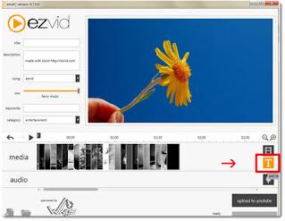 aplikasi perekam layar laptop Ezvid Video Maker
