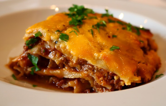 The Ultimate Lasagne with Extra Mature Cheddar Sauce