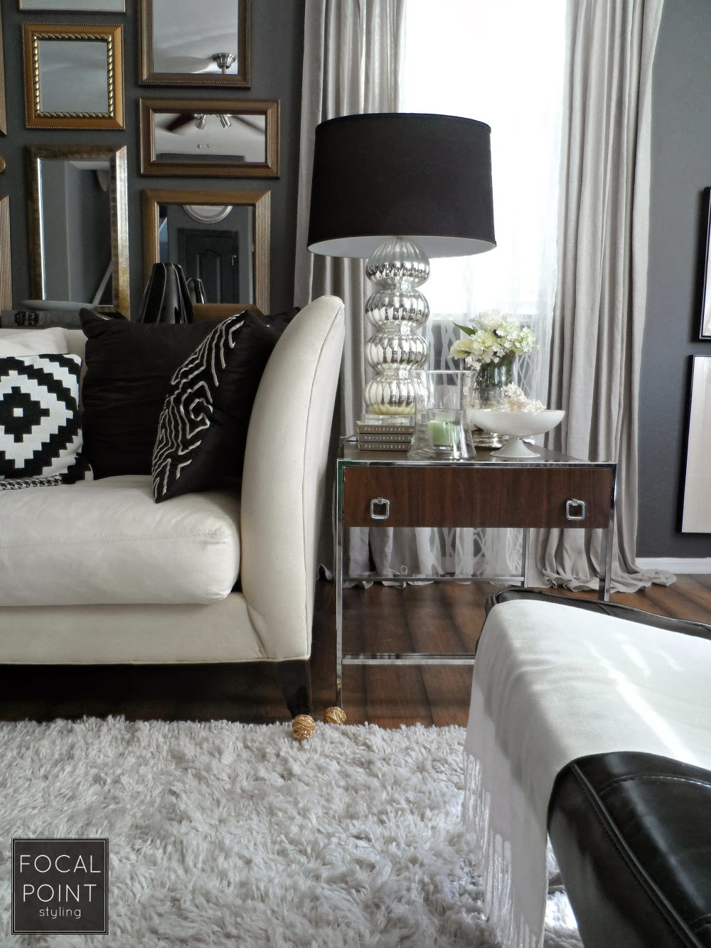 Focal Point Styling Thrifted Chic Black Amp White Living