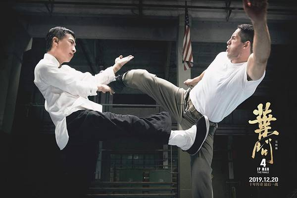 Review film Ip Man 4 The Finale indonesia