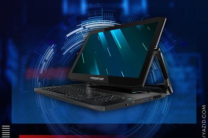Acer Triton 900, Laptop Futuristik