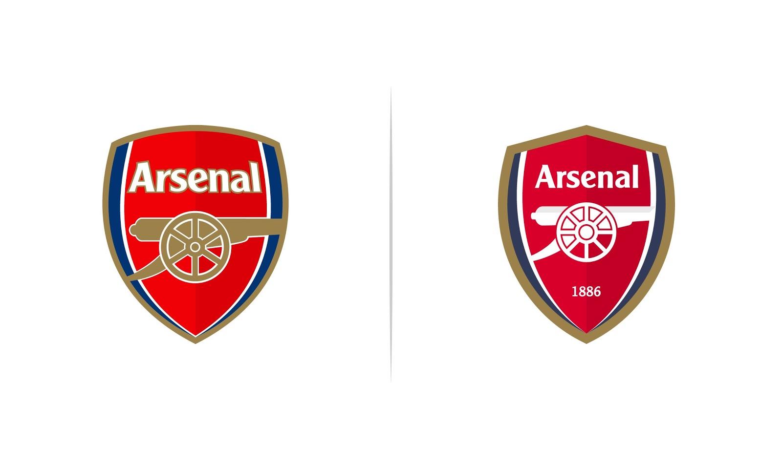 Arsenal Logo Redesign Concept Full Arsenal Logo History Footy Headlines