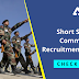 Short Service Commission Recruitment 2021:  Last Day to Apply