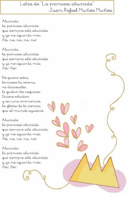 PDF Letra de La Princesa Aburrida