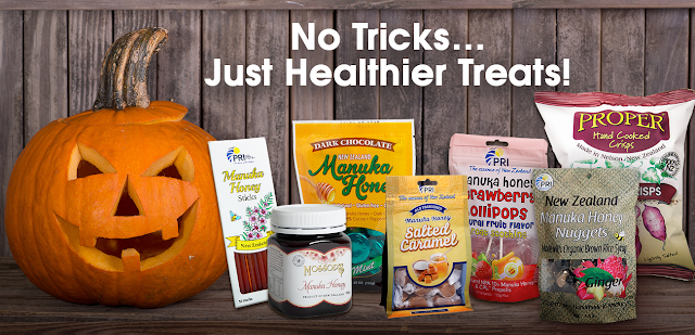 No Tricks, Just Healthier Treats #Giveaway #ManukaHoney