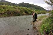 Antisipasi Banjir Babinsa Ajak Warga Laksanakan Patroli Bansor