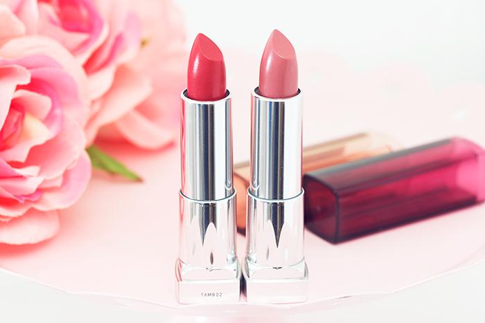 Spring On My Lips: Maybelline Color Sensational The Blushed Nudes Lipsticks