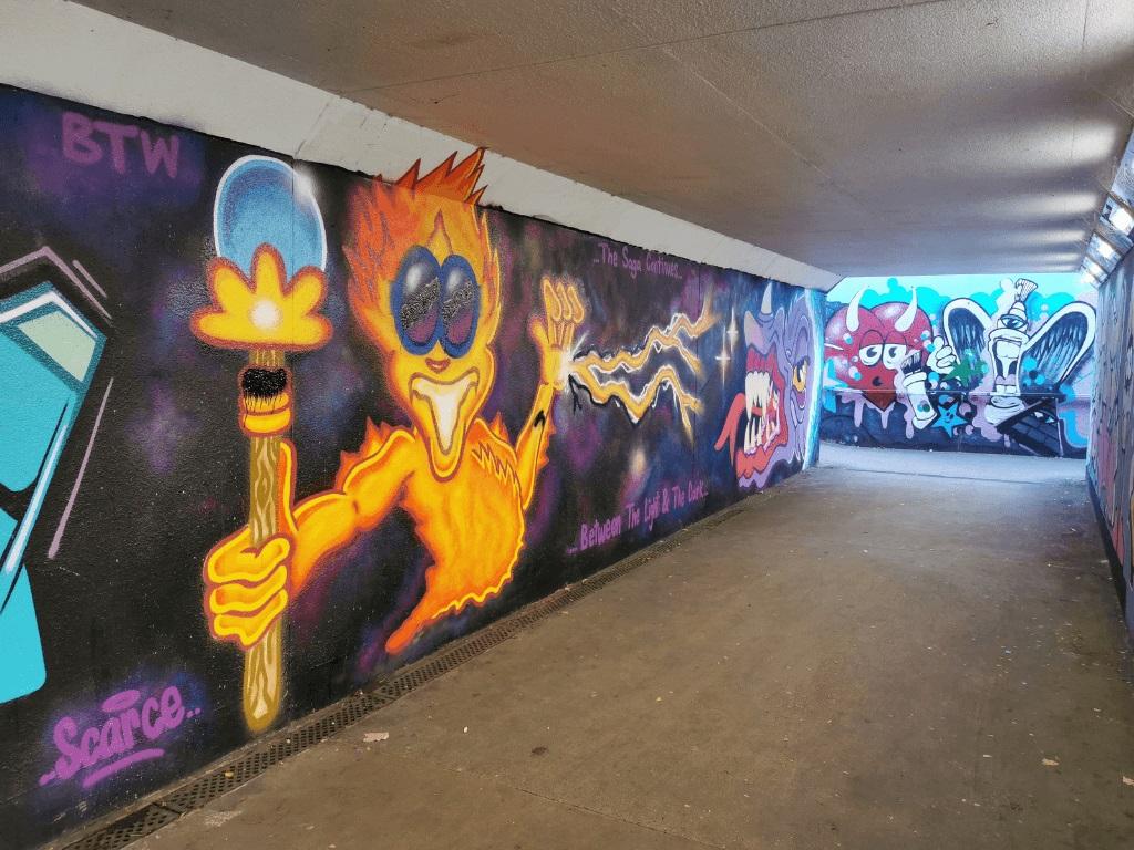 Street art w Exeter  -  Inspirujące murale w tym mieście