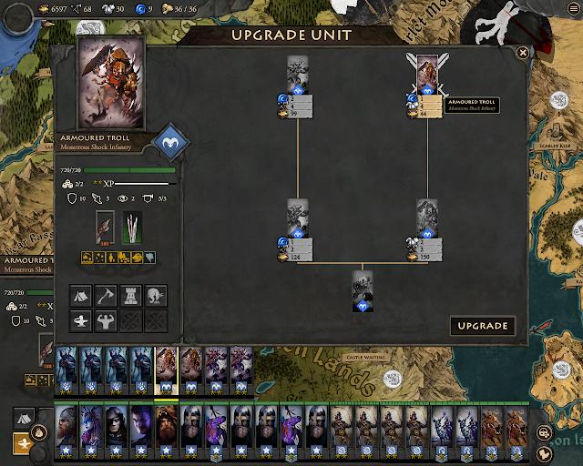 Fantasy General 2 - Trolls Upgrades