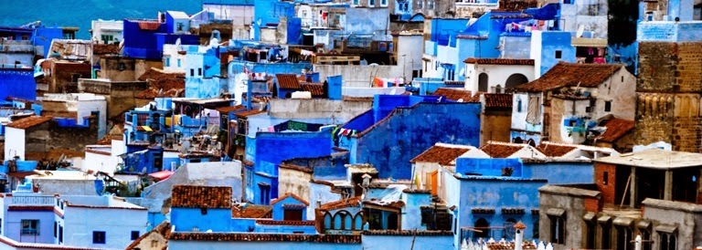 Colorful Cities in Morocco, Chefchaouen