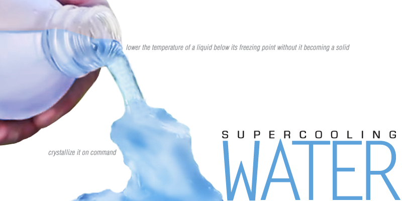 E is for Explore!: Supercooling Water