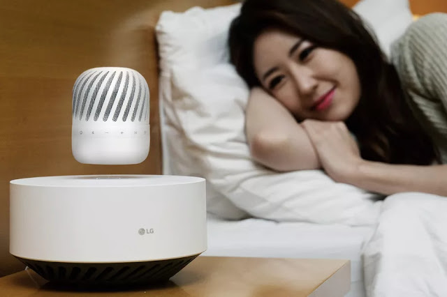 LG speaker floating in air will be released in CES 2017