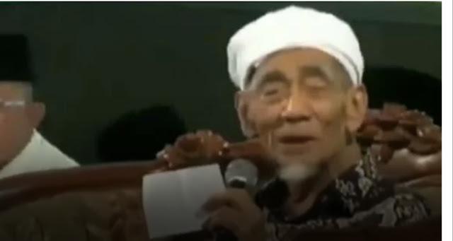 Video Mbah Moen Tentang Dua Sayap Garuda Viral