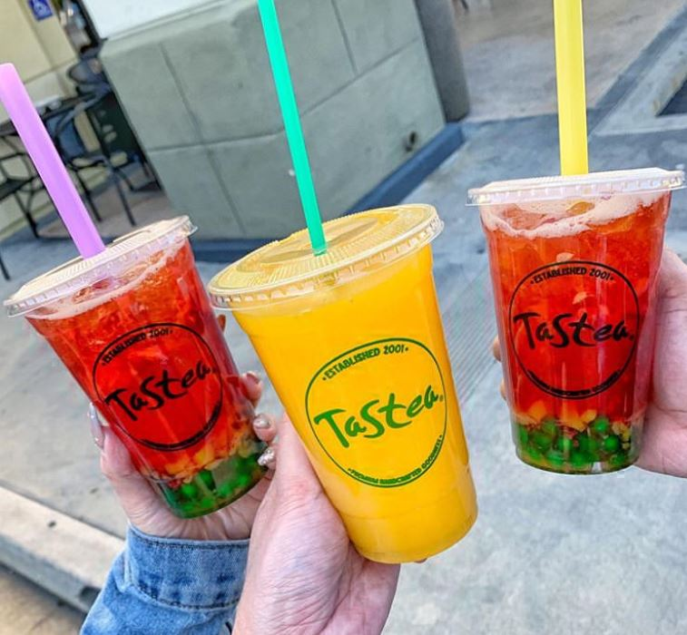 Sept. 20 | FREE DRINKS @ Tastea in Fountain Valley for 1-Year Anniversary