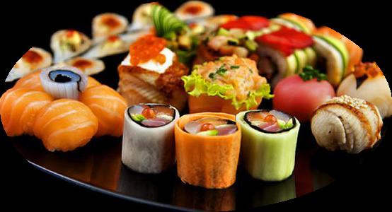 Sushi Nhật Bản hấp dẫn