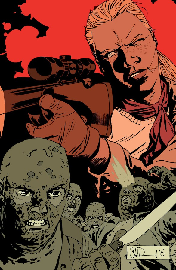 the walking dead whisperer war image comics robert kirkman twd andrea beta