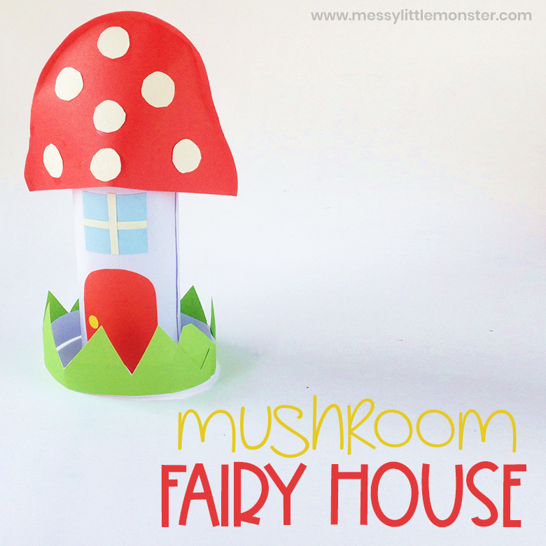 Mushroom Fairy House Craft
