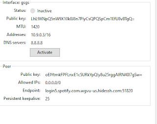 UBah Kouta UnlimitedMax Menjadi Kouta Flash Dengan Aplikasi Wireguard