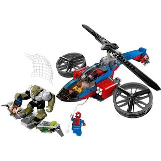 LEGO Spiderman Helicopter Rescue Set
